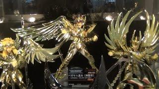 AKIBA SHOWROOMの聖闘士星矢特別展示です。 ※すでに終了しております。