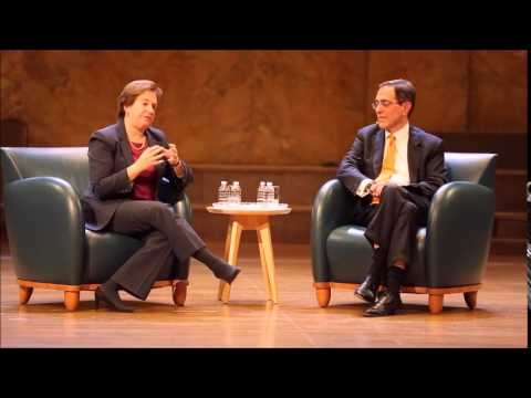 Supreme Court Justice Elena Kagan talks about being on the losing side of a decision