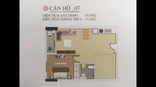 Nhà mẫu căn hộ 54,5 m2 Tại Tecco Town Bình Tân