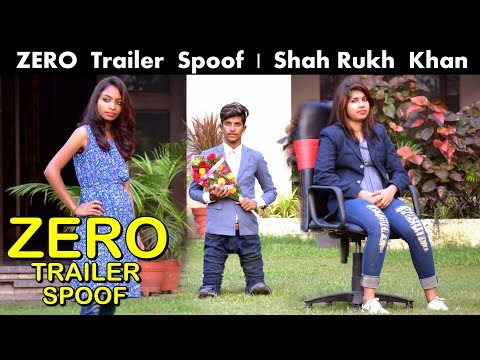 ZERO TRAILER SPOOF | Shah Rukh Khan | Anushka | Katrina | OYE TV