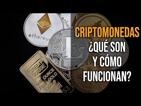 ¿Qué son y cómo funcionan las criptomonedas?