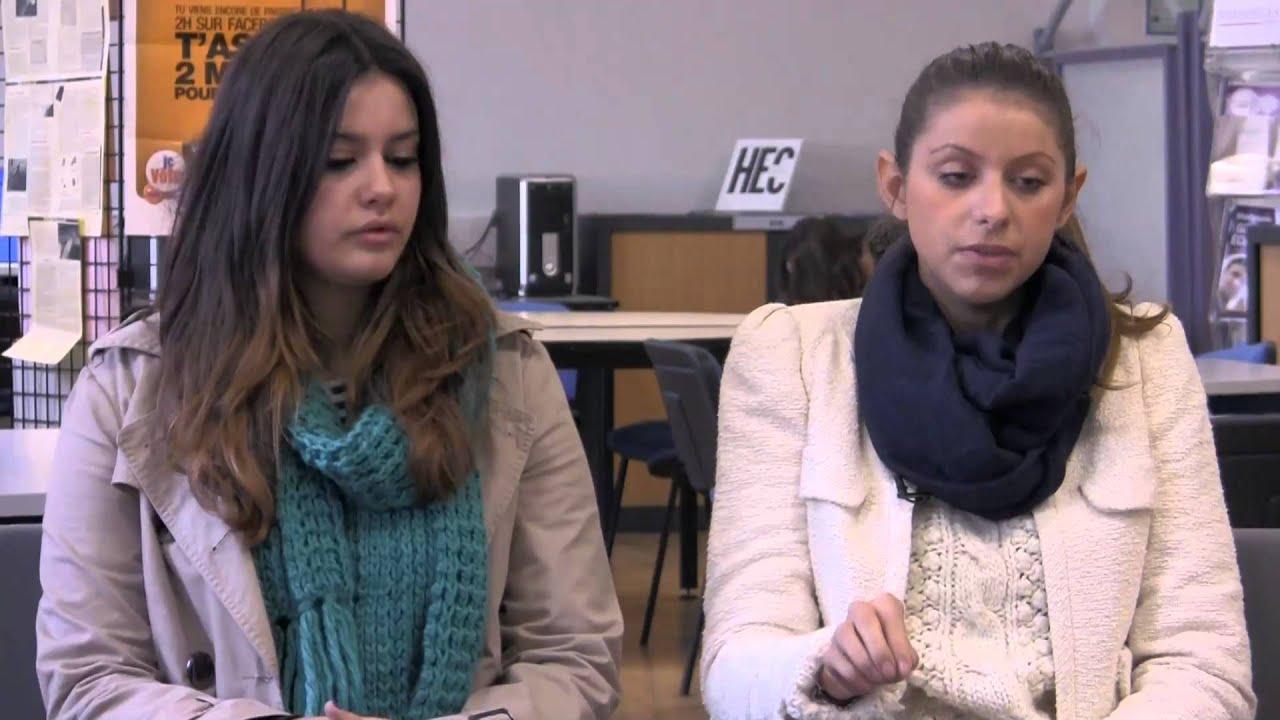 Stanislas Cannes • Mélanie et Estelle, étudiantes en STS MUC