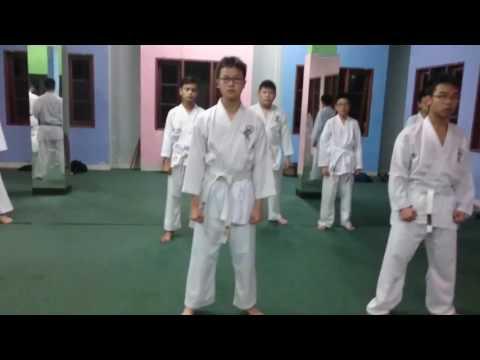 Gojukai Kihon Ido 1 & 2 Training