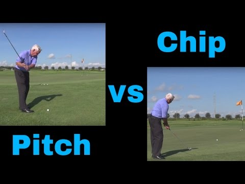 Golf TIp: Pitch vs chip shot | How to chip and pitch like a Pro and Lower Your Score