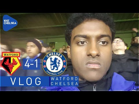 FANS TURN ON BAKAYOKO! || WATFORD 4-1 CHELSEA MATCH VLOG || MATCHDAYS WITH LEWIS