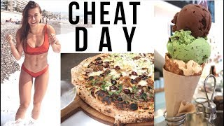 CHEAT DAY: PIZZA, BURGERS, DOUGHNUTS & MORE || 6,000+ CALORIES