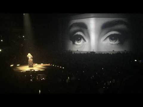 Hello, Adele, Dallas, Texas, November 1, 2016
