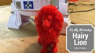 Make It Monday:  Hairy Lion
