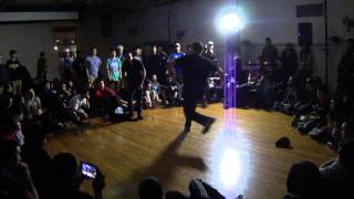 Tombo (New Birth)Vs Doe Rock (Portland City Rockers)  PDX  Sweet 16Know The Ledge 2014