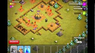 Cannonball run clash of clans walkthrough