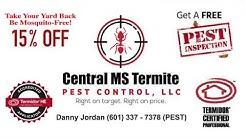 Central MS Termite & Pest Control ~ Carpenter Ants