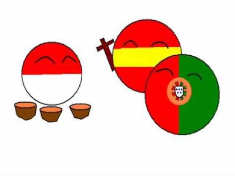 Indonesiaball : History Indonesia