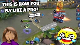 FANNY WITH NO BRAIN !😂 WOLF XOTIC | MOBILE LEGENDS