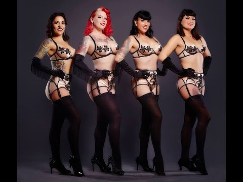 """Chorus Line"" by Pin-up d'Alsace"