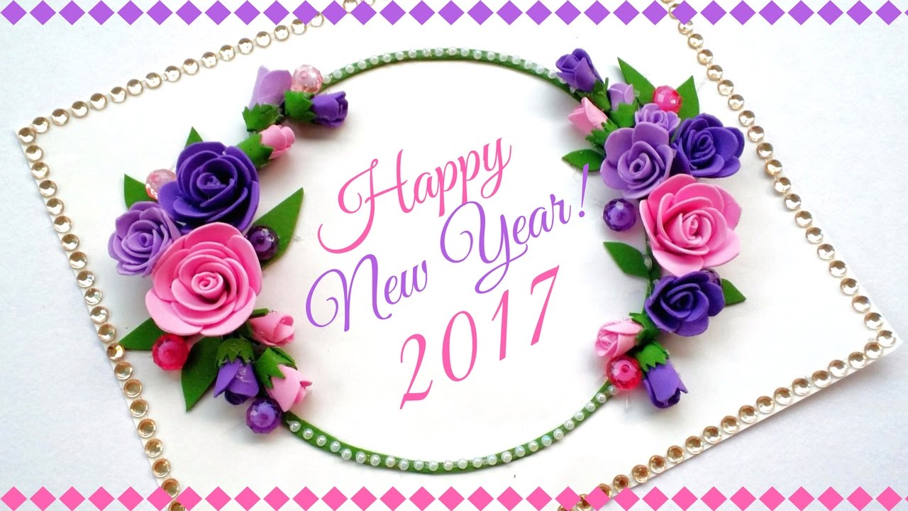 happy new year greeting card handmade greeting cards for special occasions and birthday youtube