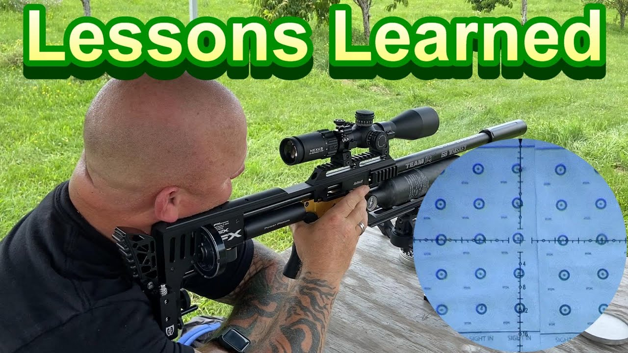 100 Yard Airgun | Practicing/Learning for RMAC | Benchrest |