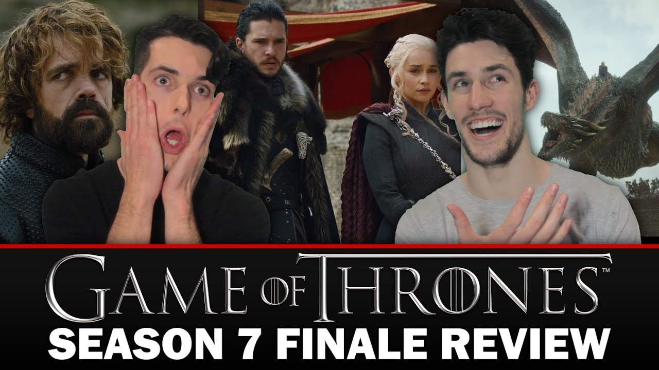 """Download GAME OF THRONES: Season 7 Episode 7 """"The Dragon and the Wolf"""" Finale Review"""
