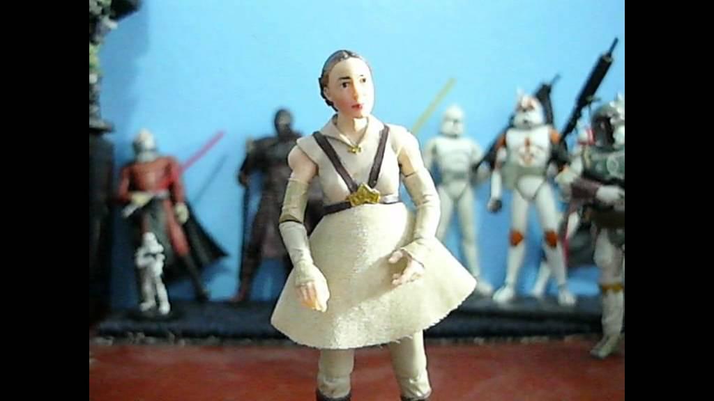 Hasbro Star Wars Revenge Of The Sith Padme Republic Senator Youtube