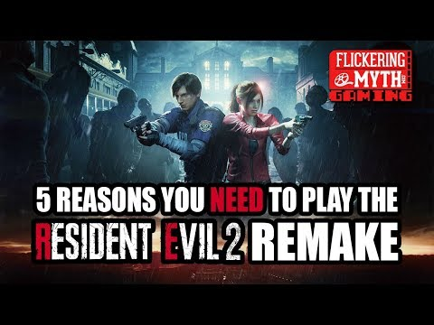 5 Reasons You Need to Play the RESIDENT EVIL 2 Remake