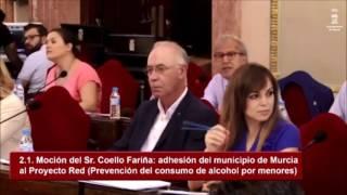 El concejal del PP Felipe Coello descalifica gravemente a Ahora Murcia