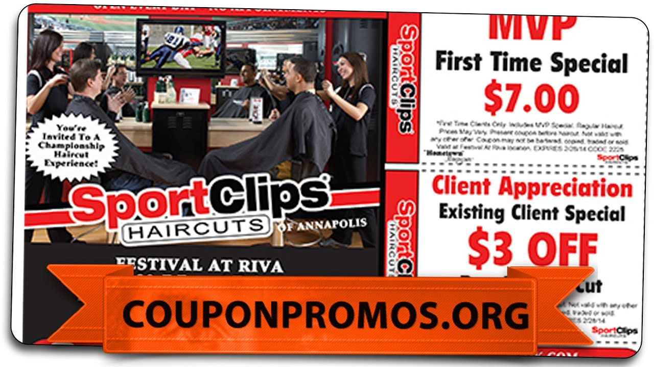 Sports Clips Coupon Get It Free Haircut 2015 Youtube