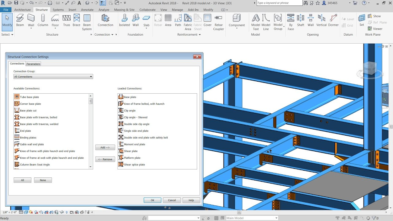 Install the autodesk steel connections for revit 2018 for Autodesk online home design