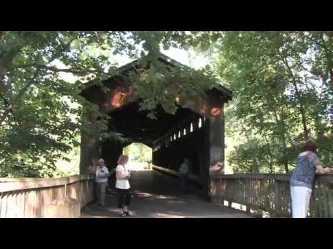 Ada Covered Bridge - Ada, Michigan