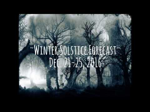 Winter Solstice Forecast 2016 by Hekterios - Spiritual Guidance, Intuitive Astrology, Tarot Reading