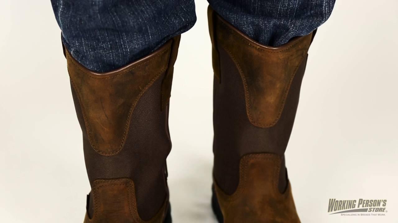 f7f03ddf462 Carhartt Boots: CMP1100 Men's 11 Inch Bison Waterproof Wellington Boots