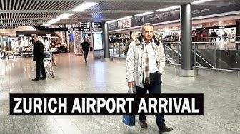 Zurich Airport Arrival Complete Tour | Zurich Airport Information Guide | Switzerland Travel Vlog
