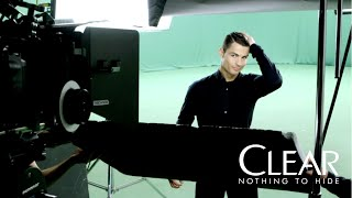 Ronaldo & New CLEAR Anti-Dandruff Shampoo: Behind The Scenes
