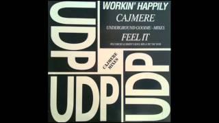 WORKIN' HAPPILY  Feel it - Cajmere underground goodies mix