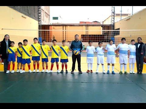 Olimpiadas Clementinas - Pasa Bola  -  Ecuador Vs Uruguay - Nivel Primaria