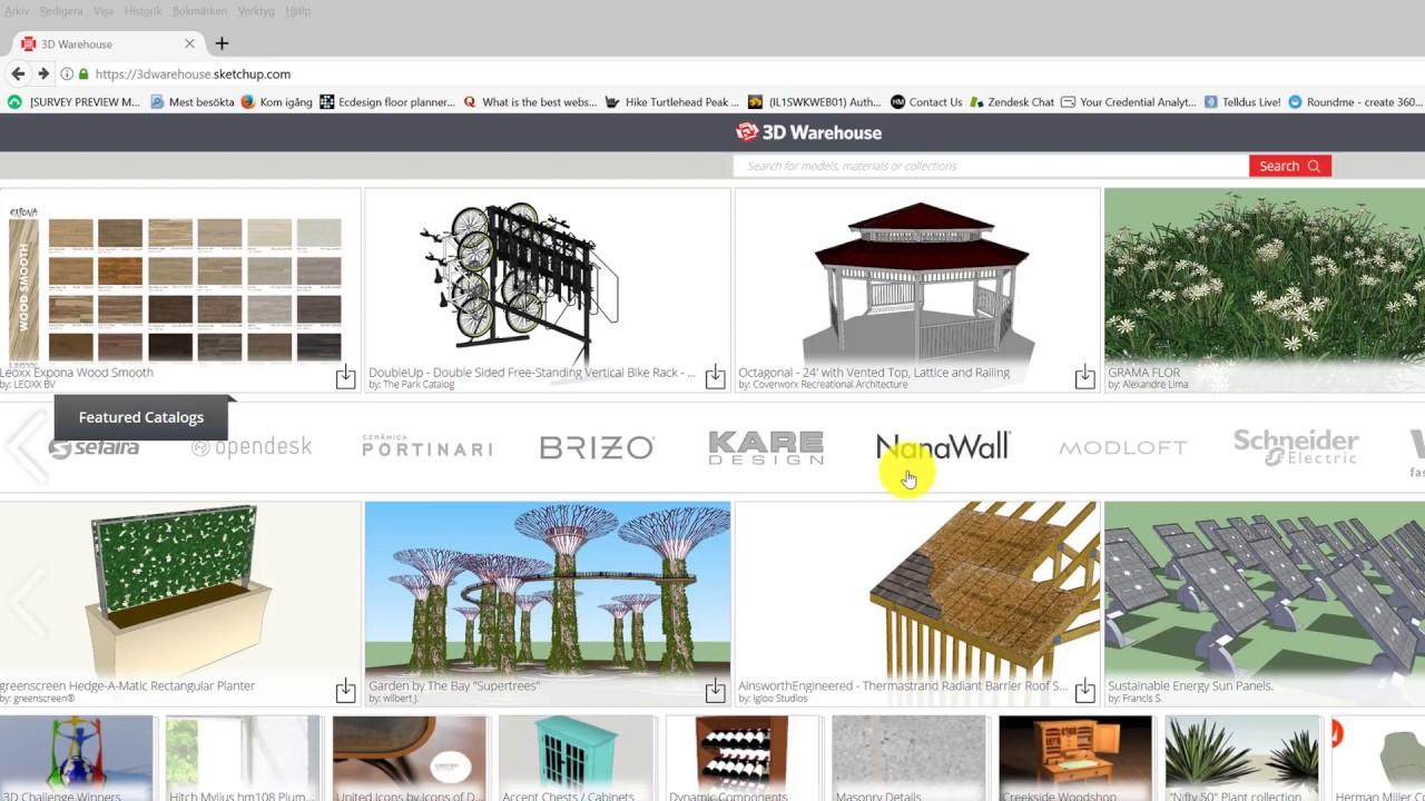 Import SketchUp models – ECDESIGN Support