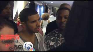 Drake denied access to Heat locker room thumbnail