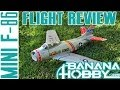 Mini F-86 BlitzRCWorks | Flight Review | EDF Fighter Jet