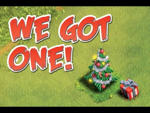 We Got A Christmas Tree Clash Of Clans 2014 Holiday Update