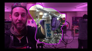 How to Fill a Mİni Grease Gun at the Mechanical Gardens Bike Co-op NYC