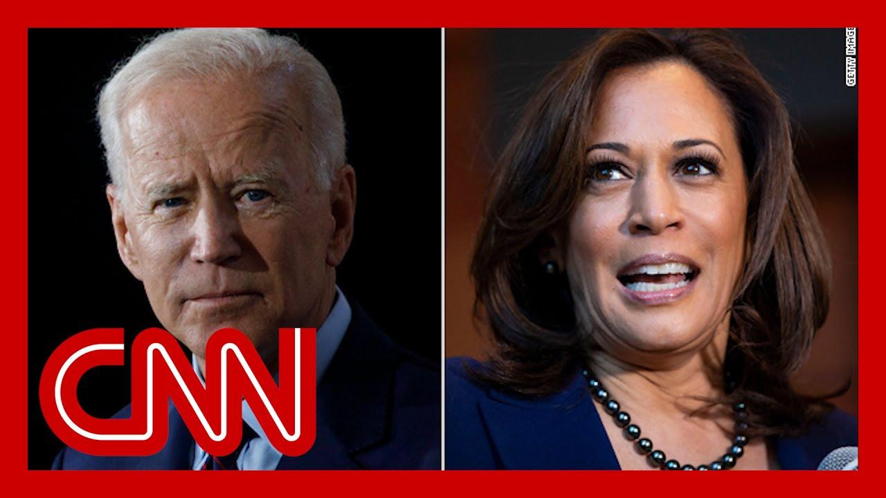 Joe Biden Picks Kamala Harris As Running Mate Youtube