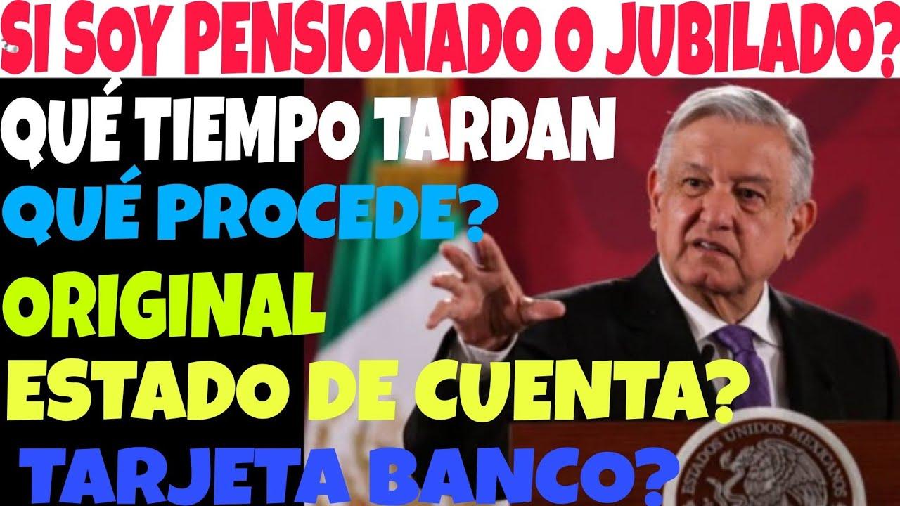 PENSIONDO O JUBILADO IMSS ISSSTE QUÉ PASA? $3,100 PESOS