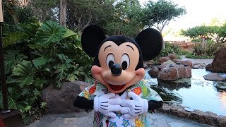 Our Last Day At Aulani Disney Hawaii Resort! | Character Breakfast, Rainbow Reef Snorkeling & Luau
