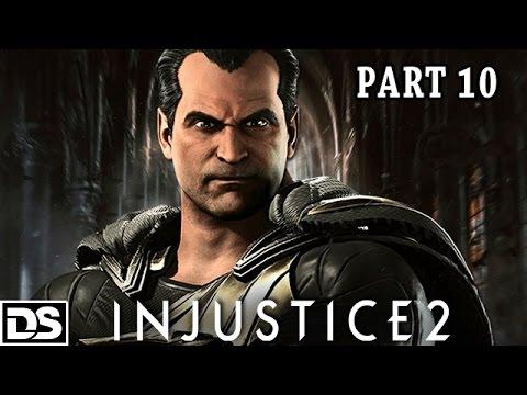 Injustice 2 Gameplay German PS4 - Black Adam & Aquaman - Let