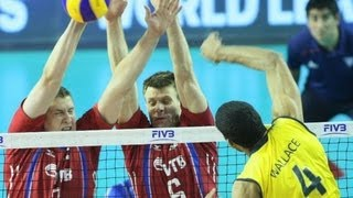 BRASIL X RUSSIA  - 2013 FIVB WORLD LEAGUE FINALS