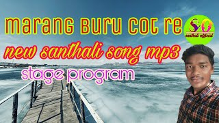 maran buru cot re santhali program song 2018