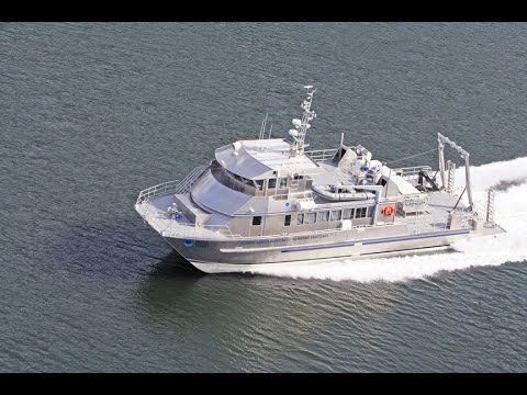 Research Vessel Aluminum Catamaran R/V Manta