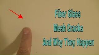 Fiber Glass Mesh Cracks!!!!