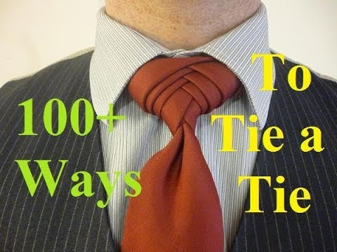 How to tie the Boutonniere Knot for your Necktie - YouTube