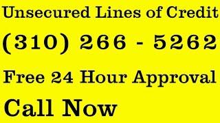 Fast Unsecured Loans | (310) 266 - 5262 | Lines of Credit $50k - $250k Lagunitas, CA