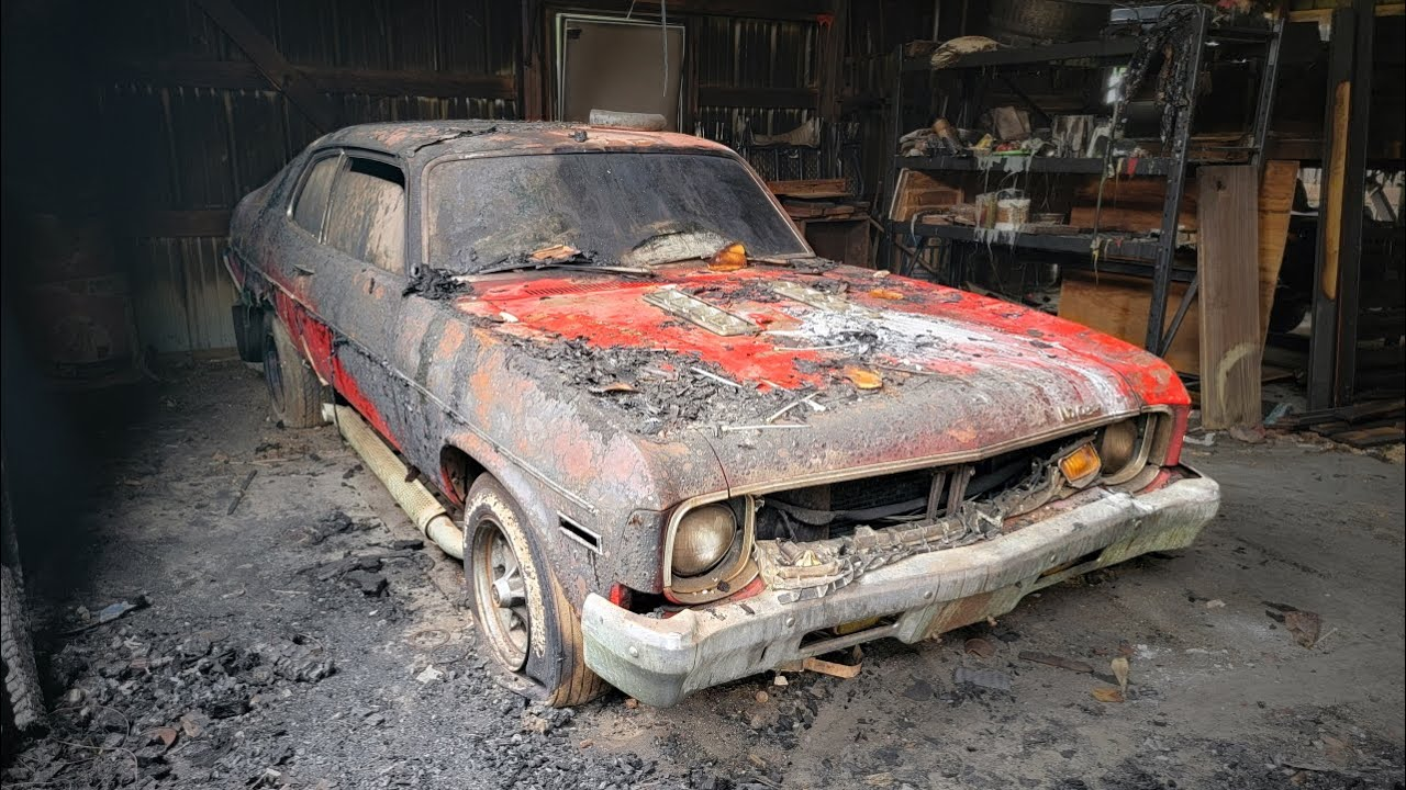 Will a BURNT and ABANDONED Nova Drive Home After 30 Years??