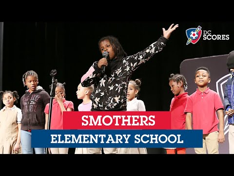 Smothers Elementary School performs at the 2019 Eastside Poetry Slam